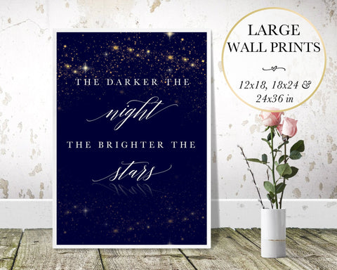 Dark Night Wall Art - Persephone's Boutique