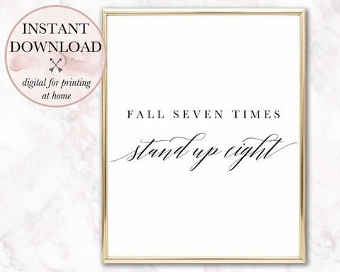 Fall Seven Times Printable - Persephone's Boutique