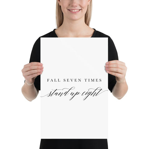 Fall Seven Times Wall Art - Persephone's Boutique