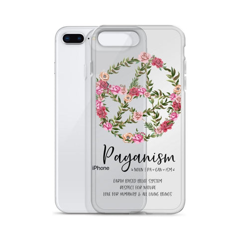 Floral Pentacle iPhone Case - Persephone's Boutique