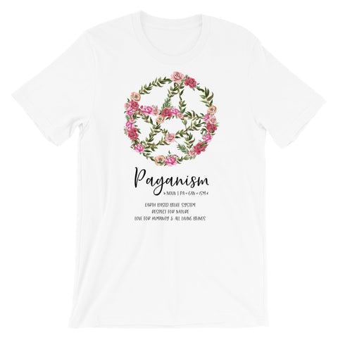 Floral Pentacle Tee - Persephone's Boutique