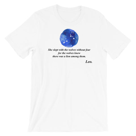Inspirational Leo Tee - Persephone's Boutique