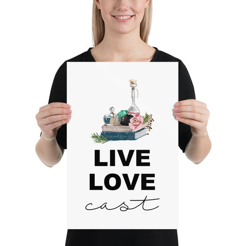 Live Love Cast Wall Art - Persephone's Boutique