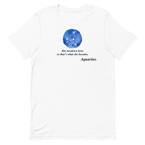 Inspirational Aquarius Tee - Persephone's Boutique