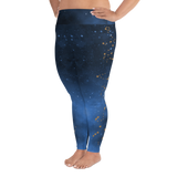 Starry Night Constellation Leggings (2XL-6XL) - Persephone's Boutique