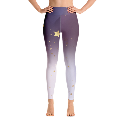 Amethyst Stars Leggings