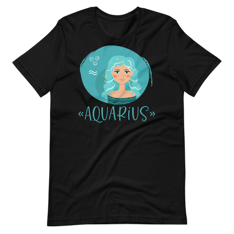 Aquarius Girl Tee - Persephone's Boutique