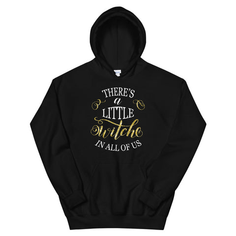 A Little Witch Black Hoodie - Persephone's Boutique