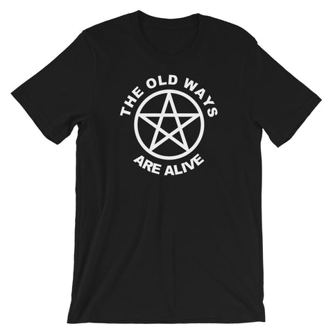 The Old Ways Pentacle Tee (2 colours) - Persephone's Boutique