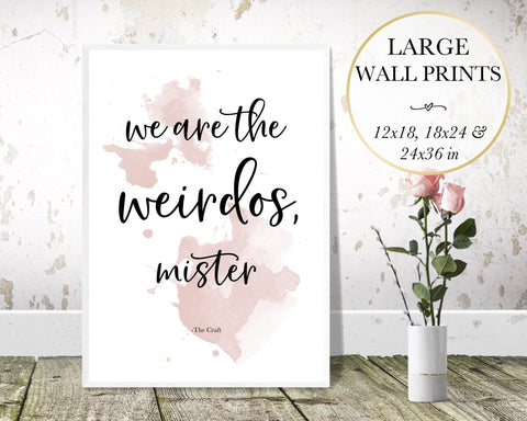 Weirdos Wall Art - Persephone's Boutique