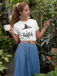 Witch & Hat Tee (4 colours) - Persephone's Boutique