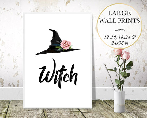 Witch & Hat Wall Art - Persephone's Boutique