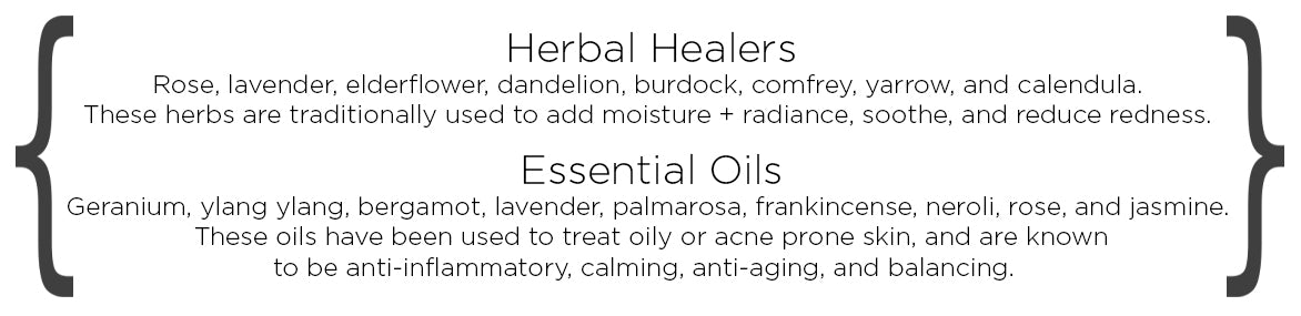 herbs and essential oils for combination skin