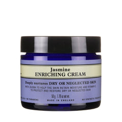 organic jasmine enriching facial cream for dry skin type