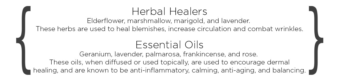 Herbs for normal skin