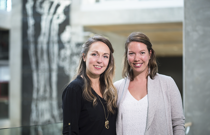 Plastic-Free YYC founders Isabelle Couture and Briana Loughlin