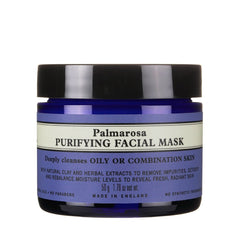 organic palmarosa facial mask oily skin care