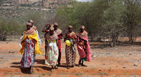frankincense collectors in Kenya