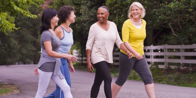 older women exercise for skin care and wellness