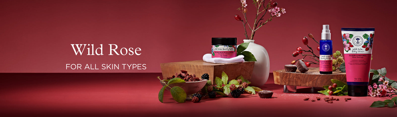 Wild Rose Collection - organic skin care for all skin types