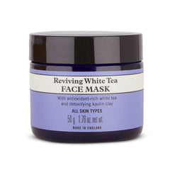 Organic white tea face mask for sensitive skin