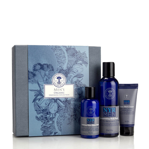 Men's Organic Grooming Collection