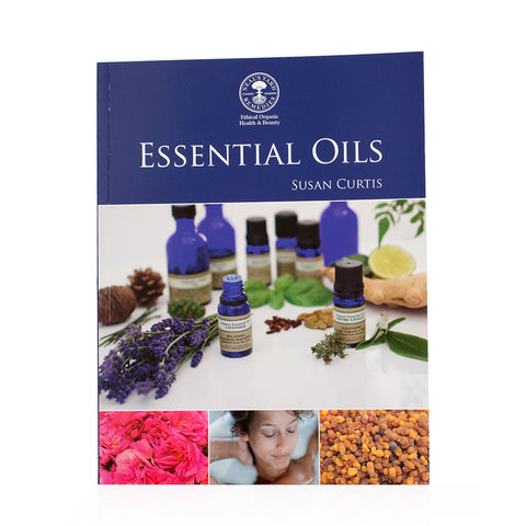 Essential Oils Book - large, blue