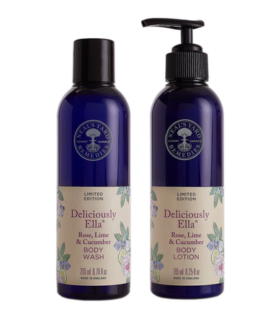 Deliciously Ella Rose, Lime & Cucumber Body Lotion