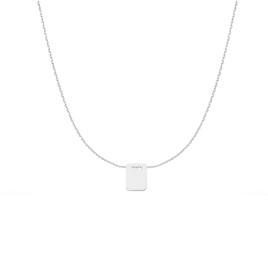 Necklace PURE 42cm in 925 Sterling Silver - Extra