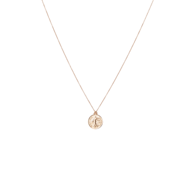 Necklace COIN in 18 KT Rose Gold