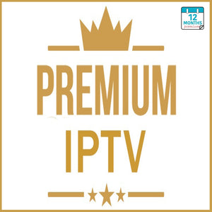 12 MONTHS IPTV PREMIUM SUBSCRIPTION