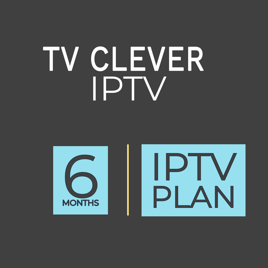6 MONTHS IPTV SILVER SUBSCRIPTION