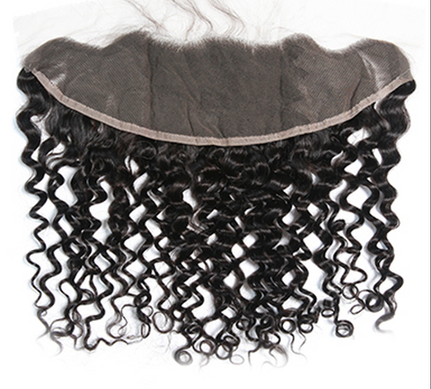 TRANSPARENT CLOSURES 13X4 - INDIAN CURLY