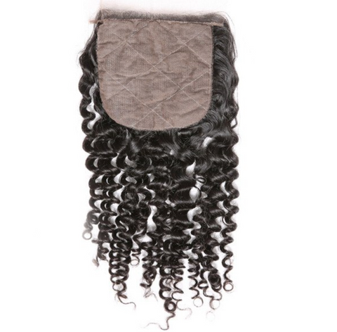 SILK CLOSURES-INDIAN CURLY