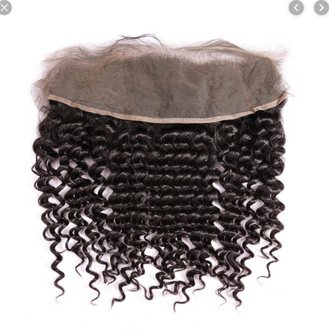 TRANSPARENT FRONTALS (13X6) - INDIAN CURLY