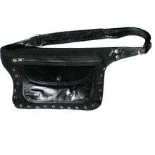 Load image into Gallery viewer, Suede & Leather Fanny Pack