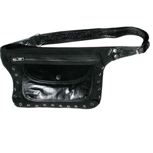 Suede & Leather Fanny Pack