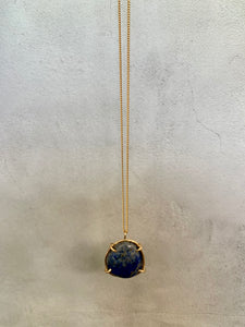Lapis Crystal Necklace