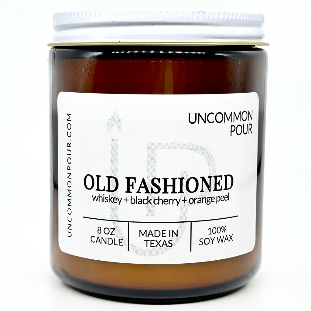 Old Fashioned Man Candle