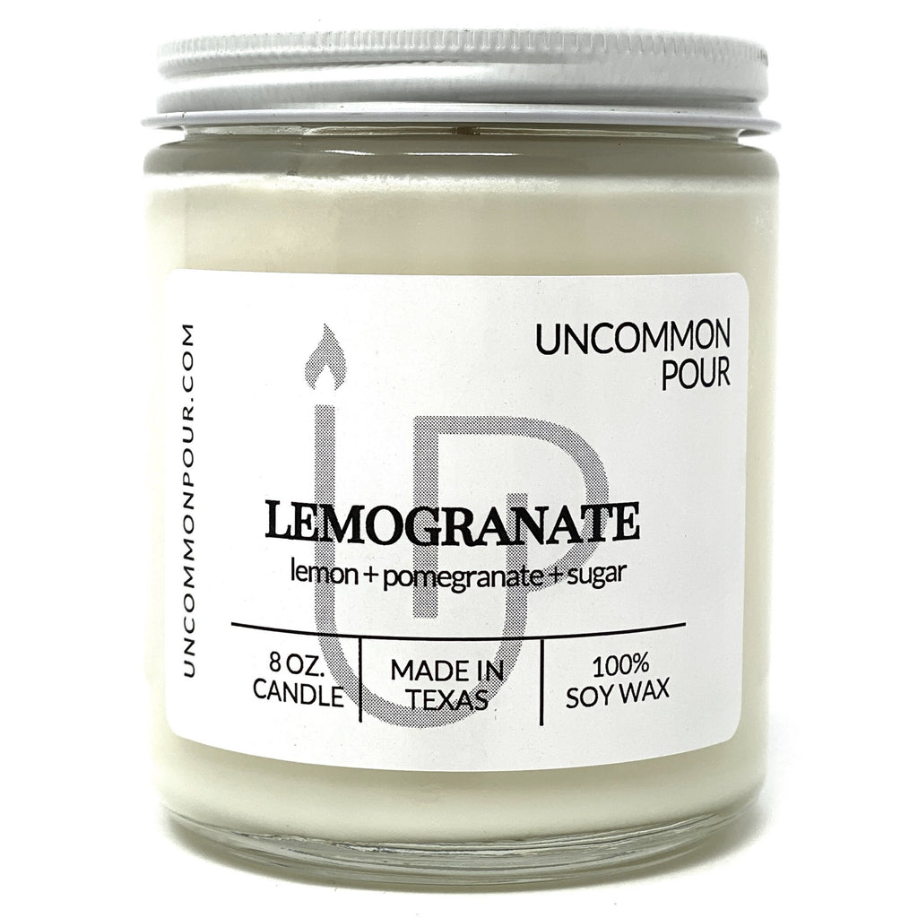 Lemon Pomegranate Candle Uncommon Pour