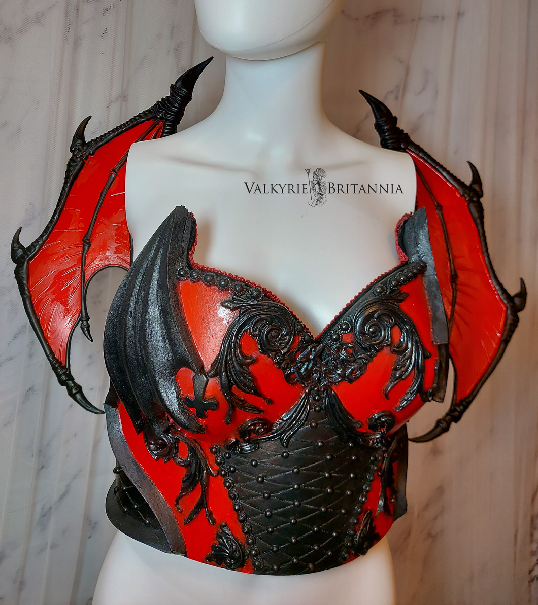 Blood Succubus Armor & Wings
