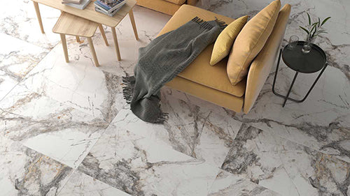 porcelain tiles that look like marble