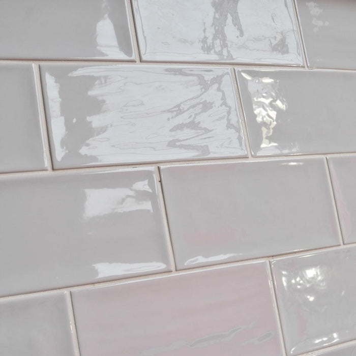 10x20cm Artisan Grey Brick gloss tile-Fabresa-ceramicplanet.co.uk