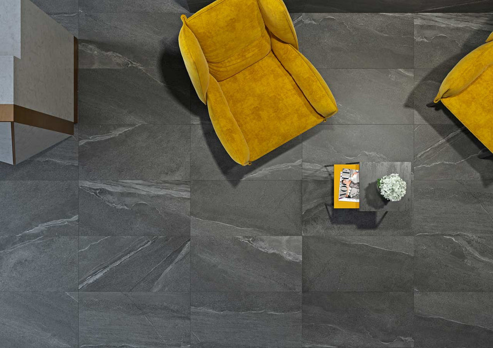 45x90cm Calcare Black XL tile-Zeus Ceramica-Brooke ceramics ltd