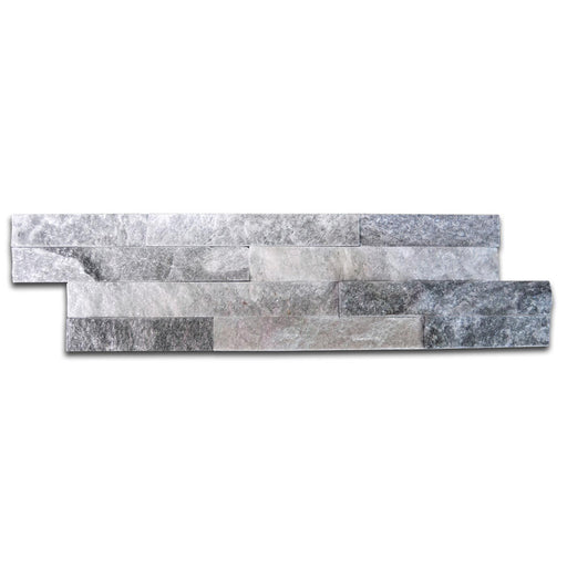 10x40cm Cloud Grey Split Face tile-Impex-ceramicplanet.co.uk