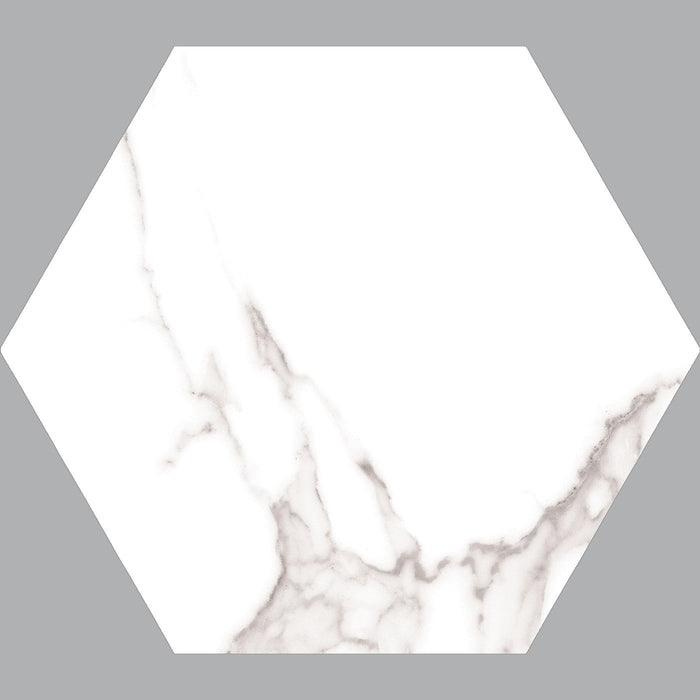 22.5x25.9cm Dortmund Hex Matt tile-Cerlat-ceramicplanet.co.uk