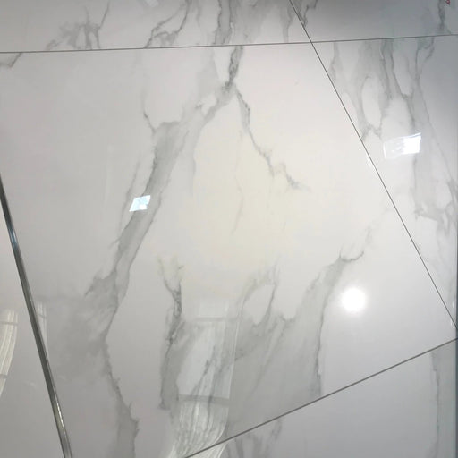 80x80cm Statuario Mercury Marble Porcelain XL tile-Emigres-ceramicplanet.co.uk