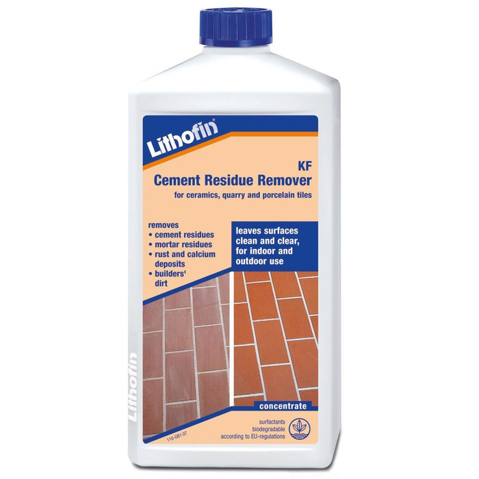 Lithofin KF Cement Residue Remover 1ltr-Lithofin-Brooke ceramics ltd