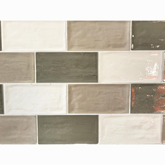 7.5x15cm Rustico Avocado Brick Tile-Salcamar Vilar-ceramicplanet.co.uk