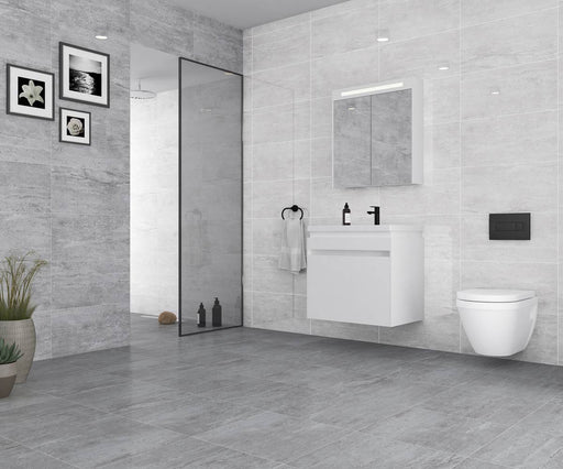 25x50cm Salerno Light Grey Wall Tile FON-1190-Canakkale Seramik - Kale-Brooke ceramics ltd